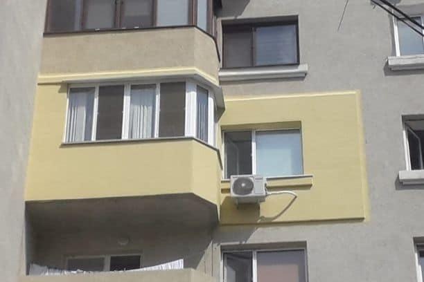 Фасадное утепление балкона фото