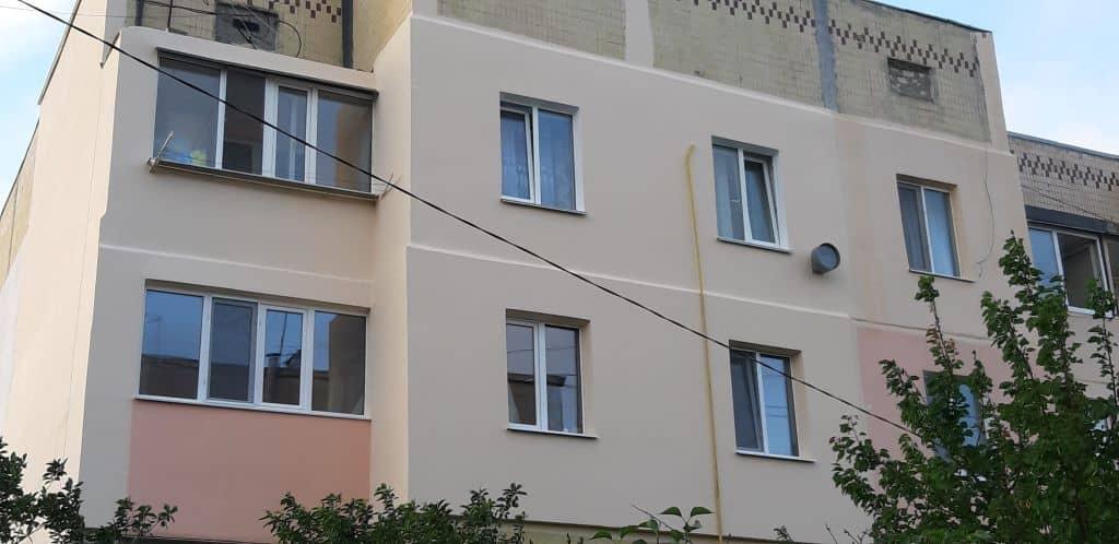 Утепление стен многоквартирного дома в Одессе фото 1