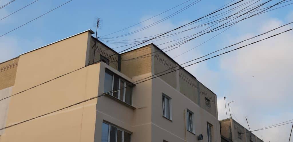 Утепление наружных стен панельного дома в Одессе