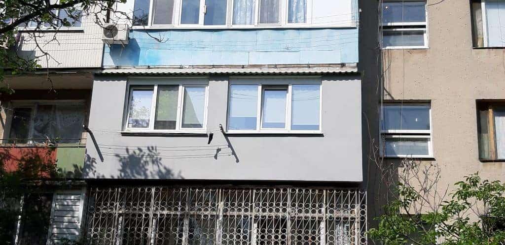 Утепление фасадов балкона в Одессе фото 2